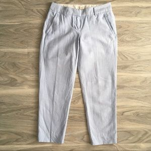 J crew light blue skimmer pants 00 petite